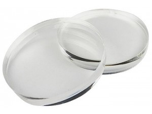Disc PMMA clear 98x16mm