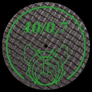 Disc 40/0,7