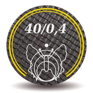 Disc 40/0,4