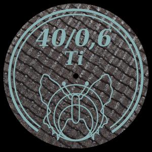 Disc 40/0,6Ti
