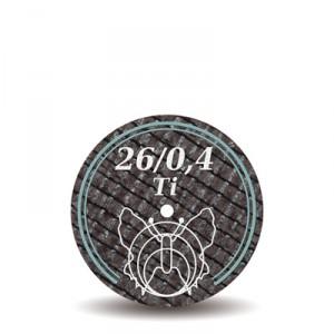 Disc 26/0,4Ti